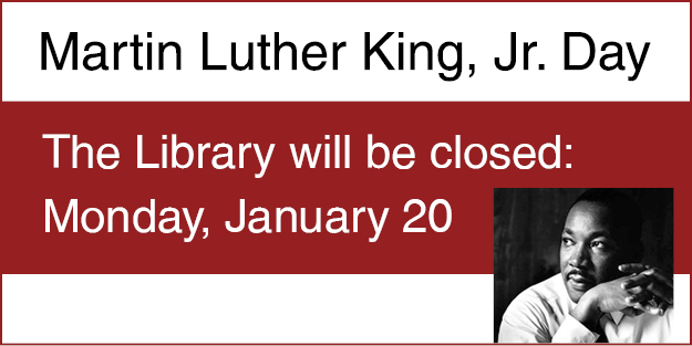 MLK Closing January 20