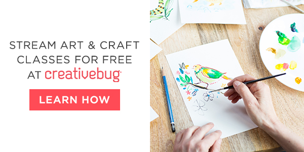 Creative Bug Arts and Crafts Lessons